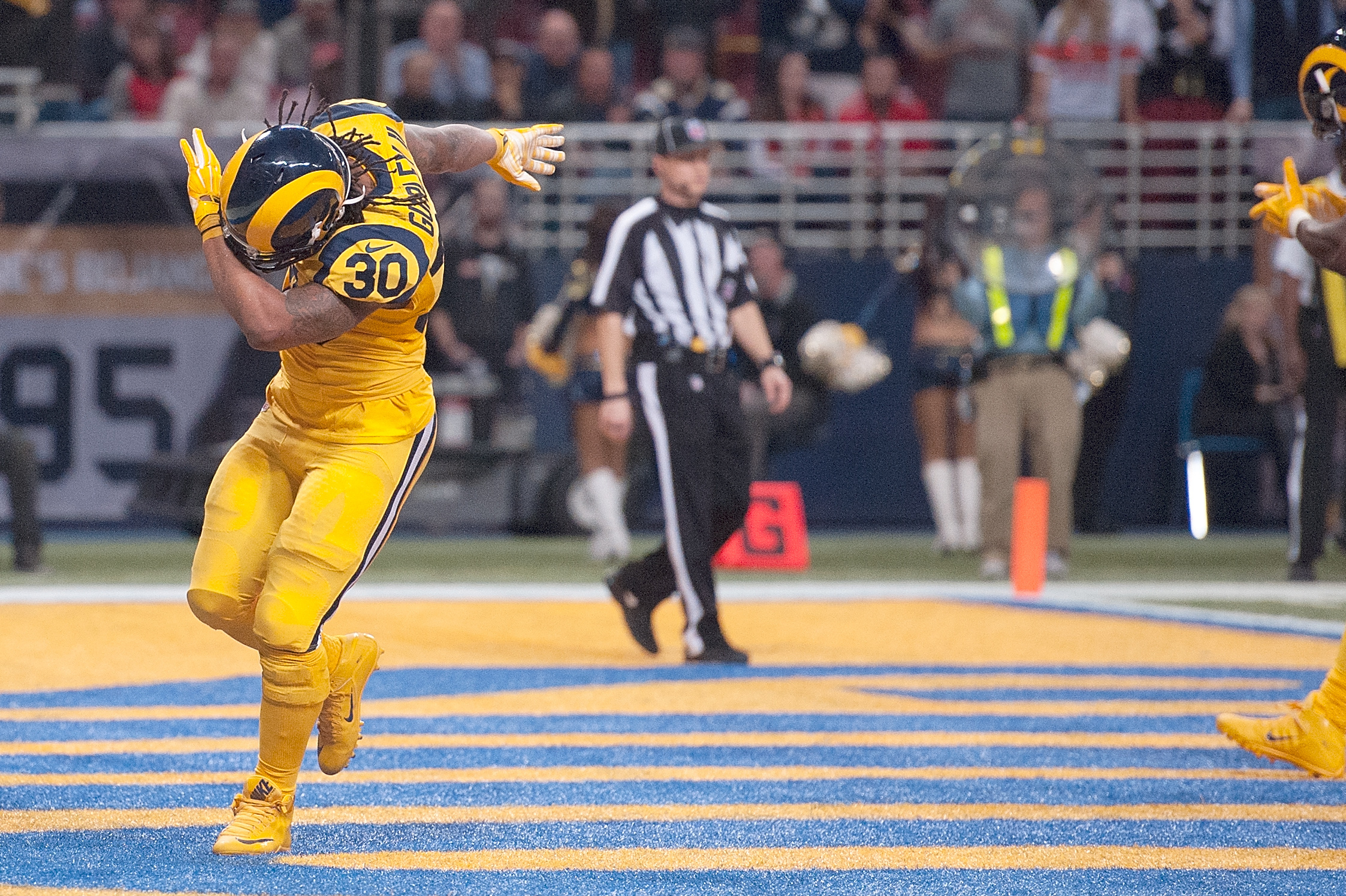 Daily Fantasy Football Stock Report Todd Gurley to have reduced