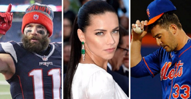 Failed To Show Up At Saturdays Mets Game After Becoming Emotionally Distraught When He Saw Girlfriend Adriana Lima With Her Ex Boyfriend Julian Edelman